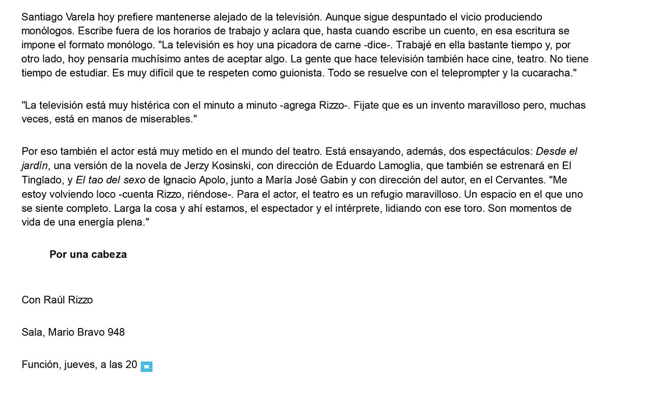 Con espíritu bien porteño - 22.05.2014 - lanacion.com